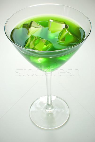 Green cocktail Stock photo © unikpix