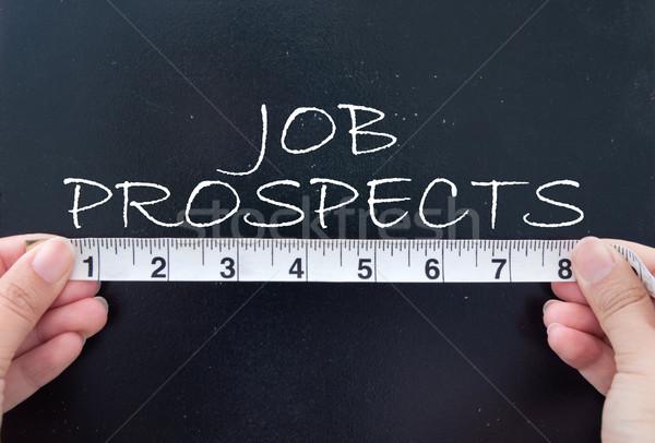 Measuring job prospects Stock photo © unikpix