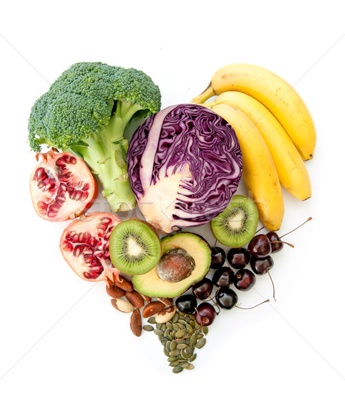 Heartshape superfoods Stock photo © unikpix