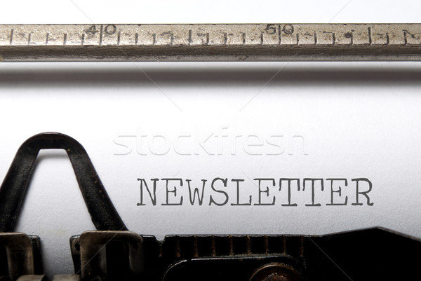 Newsletter  Stock photo © unikpix