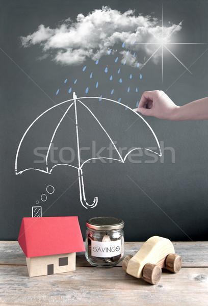 Insurance concept  Stock photo © unikpix
