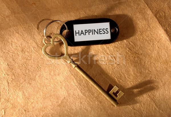 Key to happiness  Stock photo © unikpix
