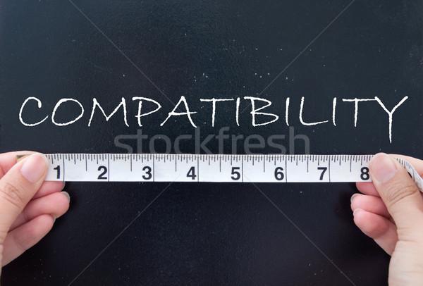 Measuring compatibility Stock photo © unikpix