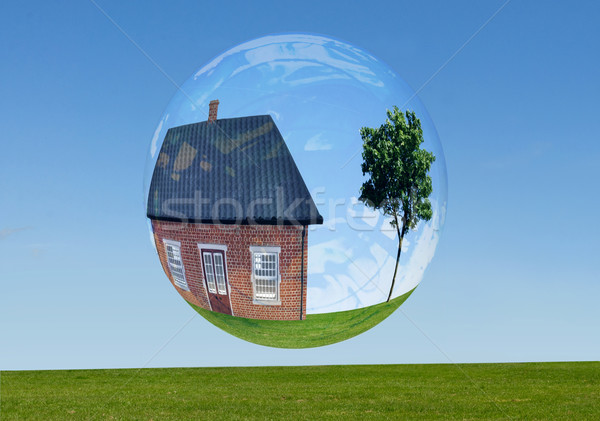 Real estate bubble  Stock photo © unikpix