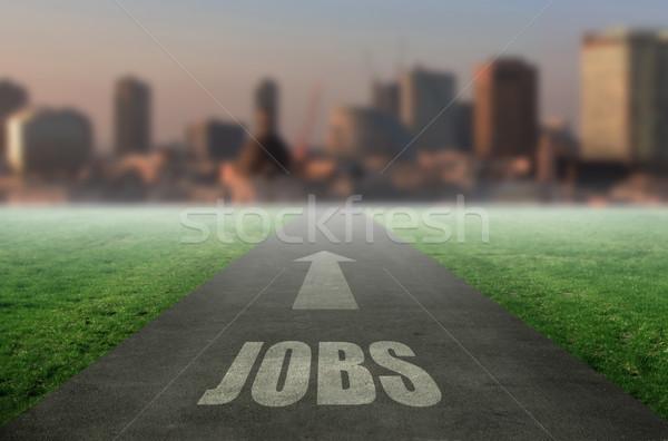 Jobs ahead  Stock photo © unikpix