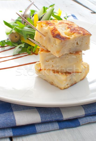 Spanish omelette  Stock photo © unikpix