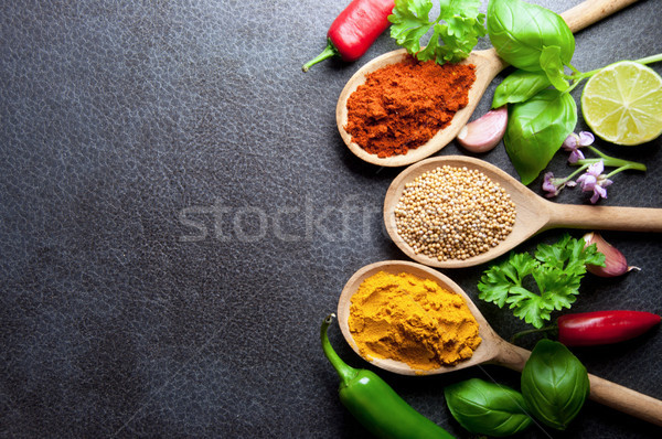 Food seasoning background  Stock photo © unikpix