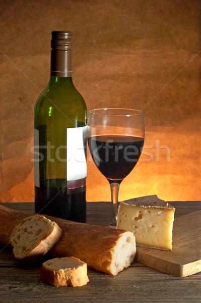 сыра рюмку буханка Сток-фото © unikpix