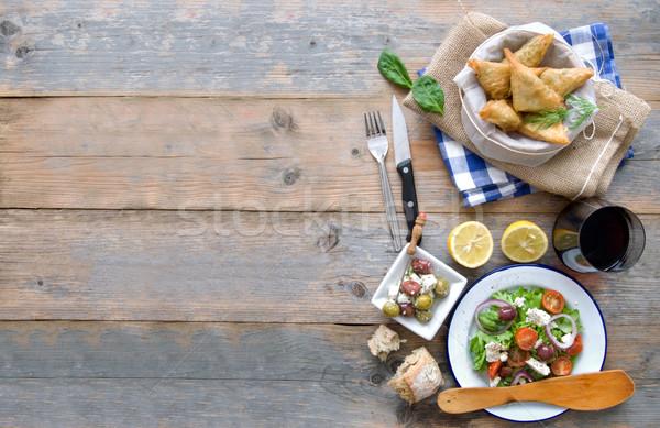 Greek food background Stock photo © unikpix