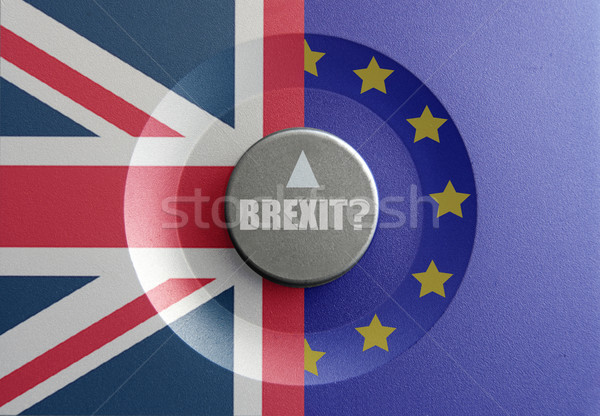 Composer britannique européenne drapeaux affaires euros Photo stock © unikpix
