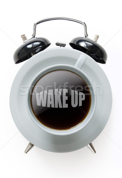 Wake up coffee Stock photo © unikpix