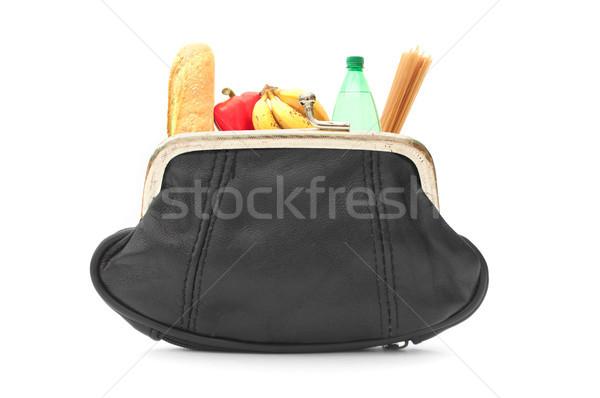 Groceries inside a purse Stock photo © unikpix