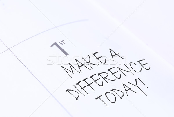 Make a difference  Stock photo © unikpix