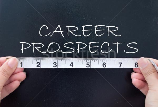 Measuring career prospects Stock photo © unikpix
