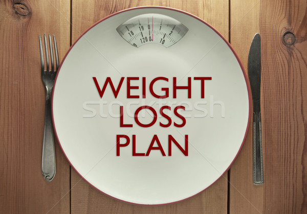 Weight loss plan Stock photo © unikpix