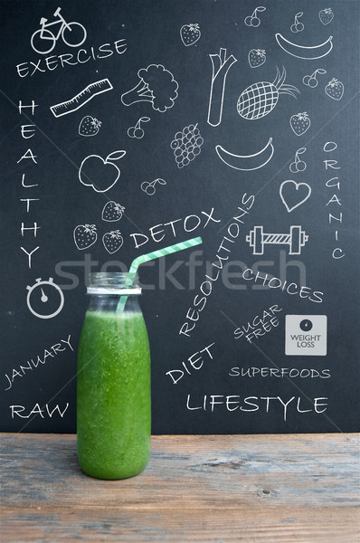 Healthy lifestyle and diet concept Stock photo © unikpix