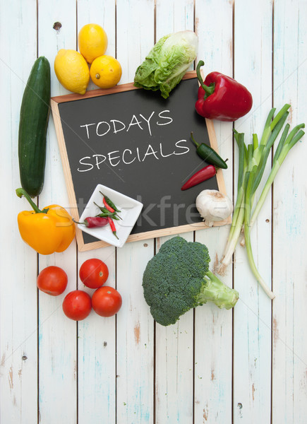 Todays specials menu Stock photo © unikpix