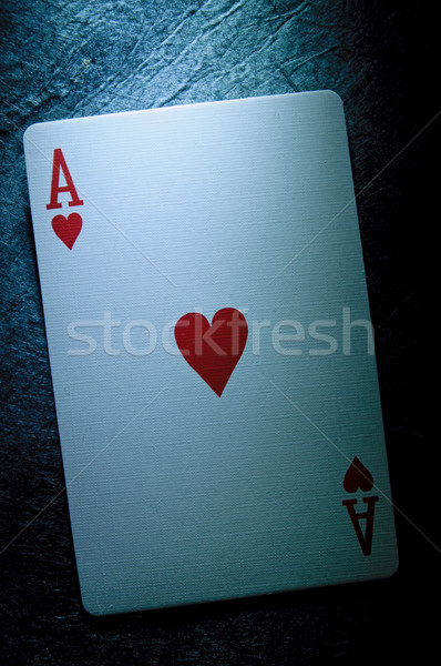Ace card  Stock photo © unikpix