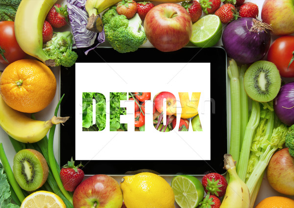 Detox diet plan recipes Stock photo © unikpix