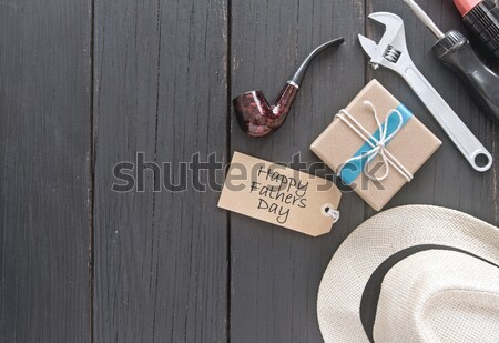 Fathers day gift Stock photo © unikpix