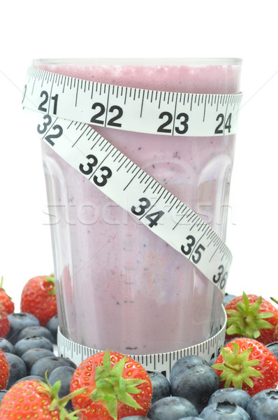 Fruit smoothie diet Stock photo © unikpix
