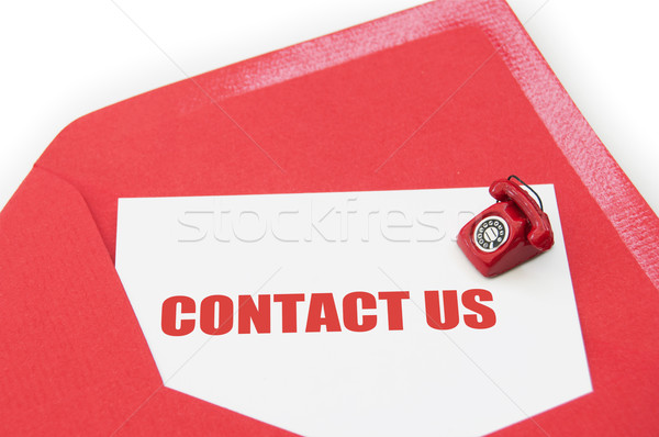 Contact us Stock photo © unikpix