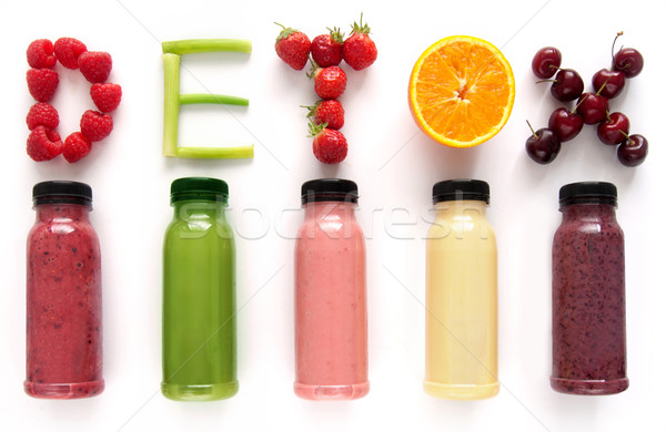 Detox juice smoothies Stock photo © unikpix