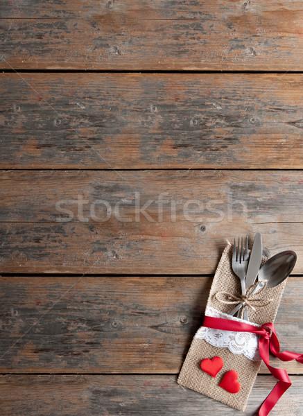 Valentines menu background Stock photo © unikpix