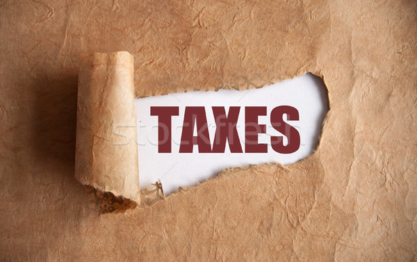 Taxes uncovered  Stock photo © unikpix