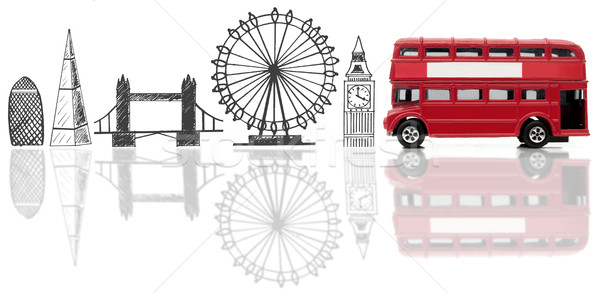 London tourist landmarks Stock photo © unikpix