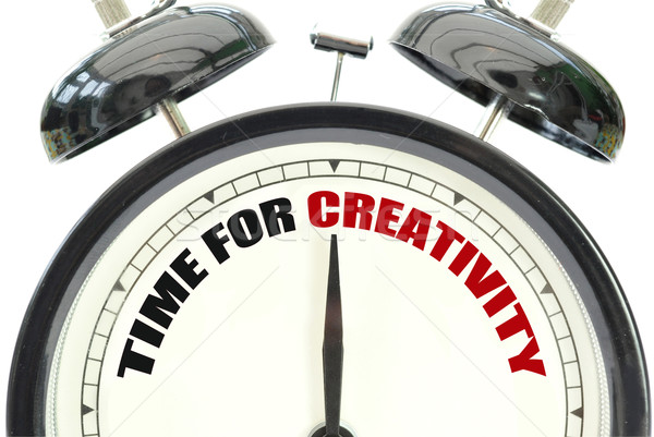 Stock photo: Time for creativity
