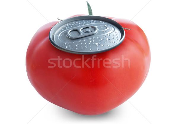 トマトジュース 新鮮な することができます 白 フルーツ ドリンク ストックフォト © unikpix
