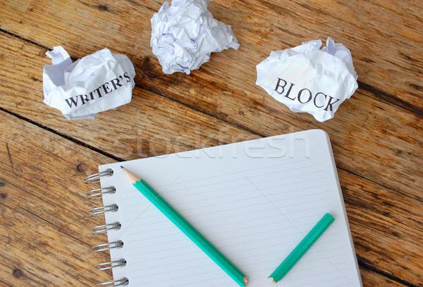 Writers block Stock photo © unikpix