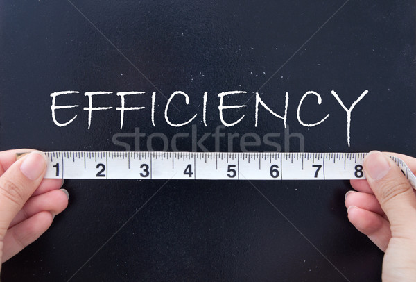 Measuring efficiency  Stock photo © unikpix