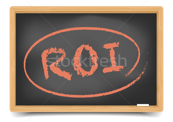 Stockfoto: Blackboard · roi · gedetailleerd · illustratie · eps10 · vector