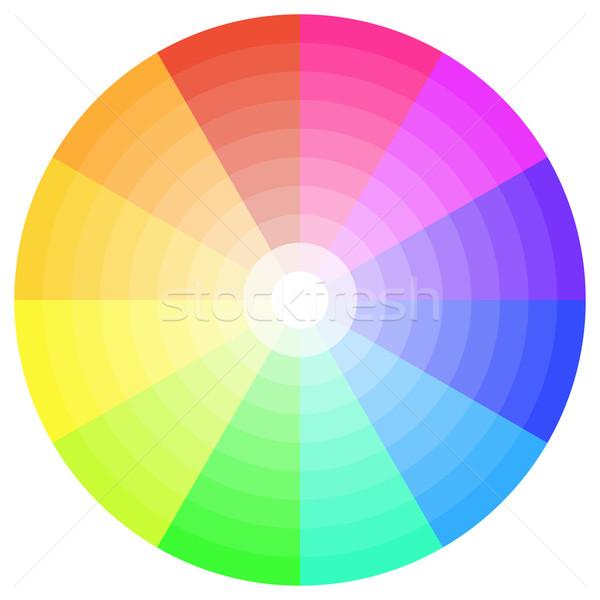 Color Wheel Stock photo © unkreatives