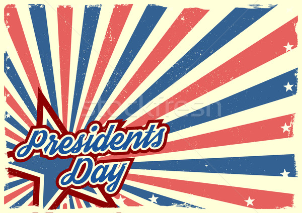 Presidents Day Background Stock photo © unkreatives