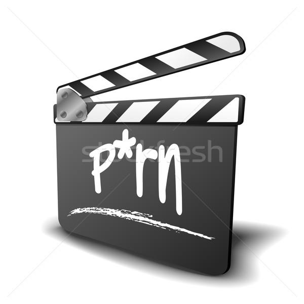 Clapper Board P*rn Stock photo © unkreatives