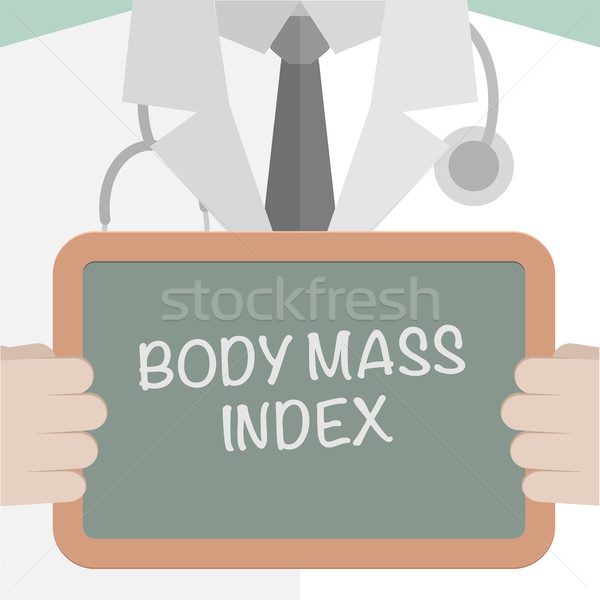 Medical Board BMI Stock photo © unkreatives