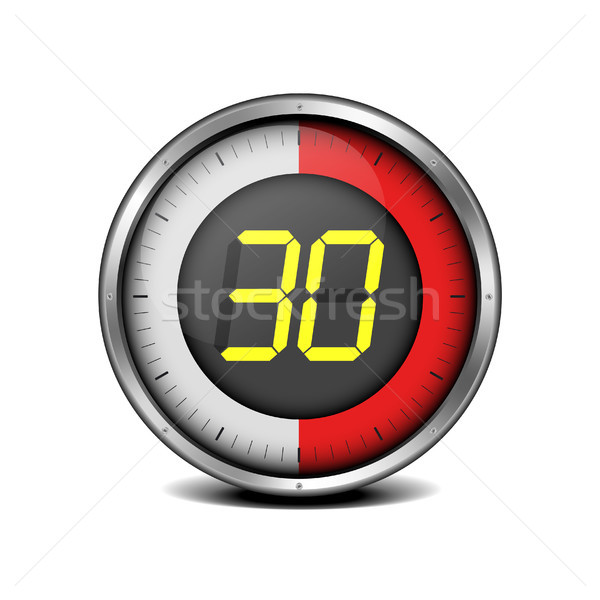 timer digital 30 Stock photo © unkreatives