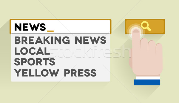 search news Stock photo © unkreatives