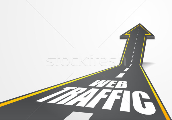 road webtraffic Stock photo © unkreatives