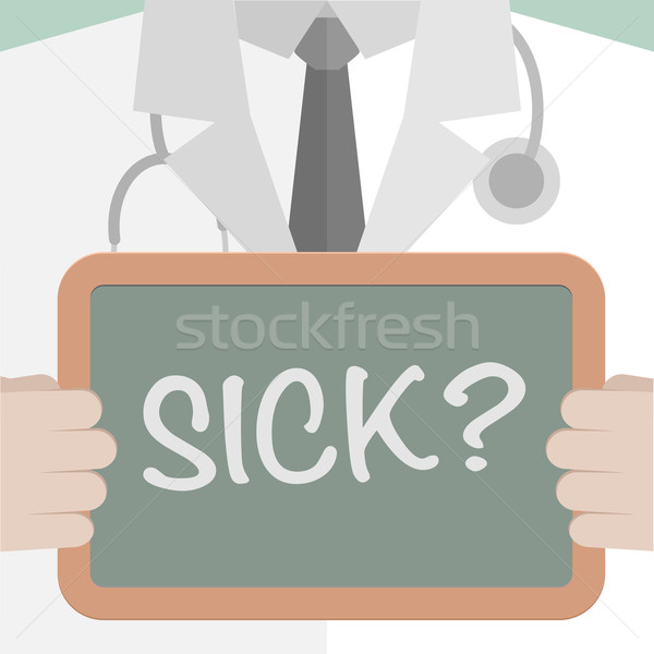 Medical Board Sick Stock photo © unkreatives