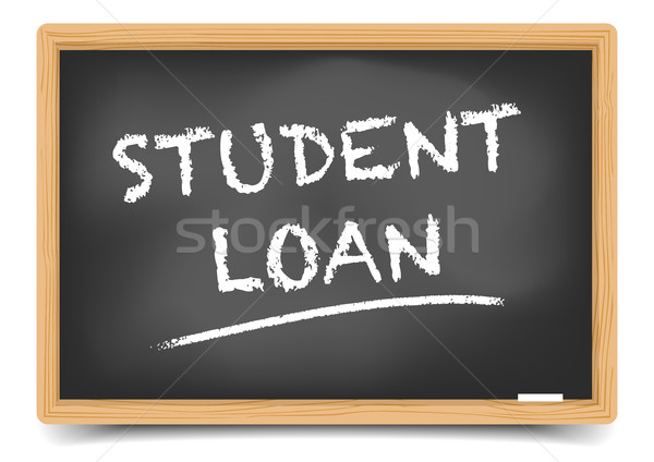 Blackboard Student Loan Stock photo © unkreatives
