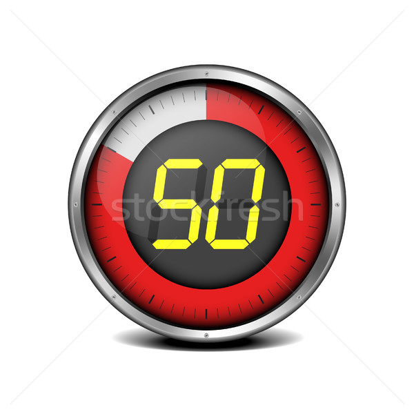 timer digital 50 Stock photo © unkreatives