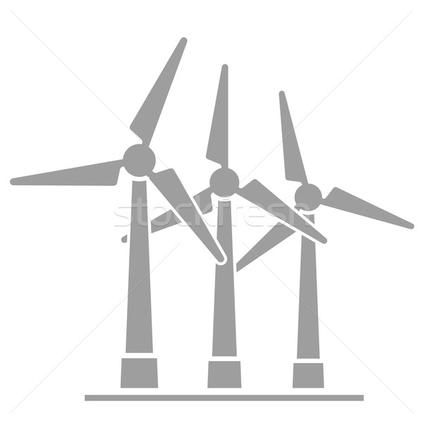 Wind generators Stock photo © unkreatives