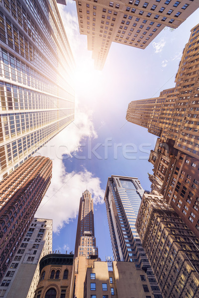 office highrise buildings Stock photo © unkreatives