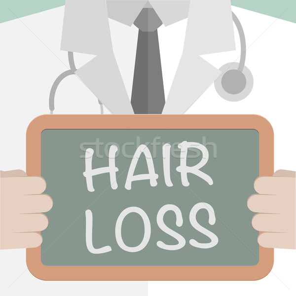 Medical Board Hair Loss Stock photo © unkreatives