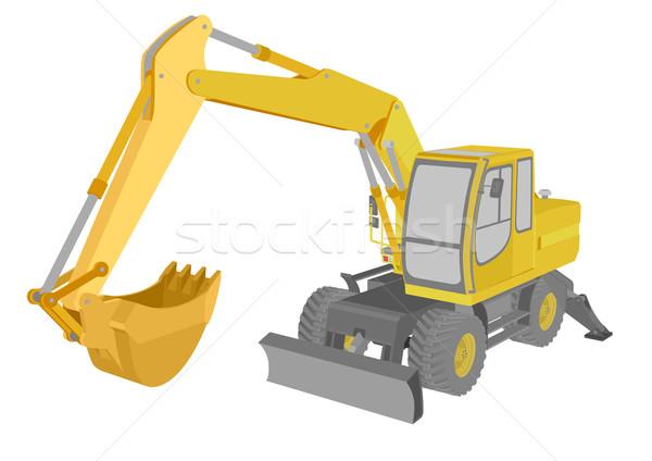 Excavator Stock photo © unkreatives