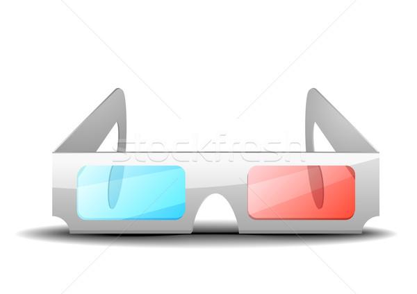 3D glasses Stock photo © unkreatives